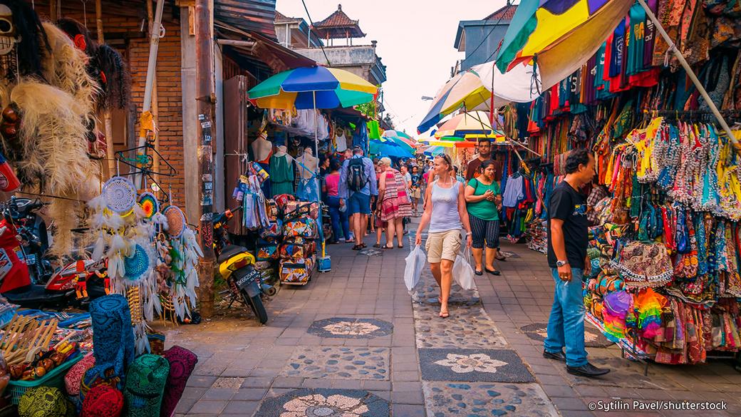 The Ubud Art Market