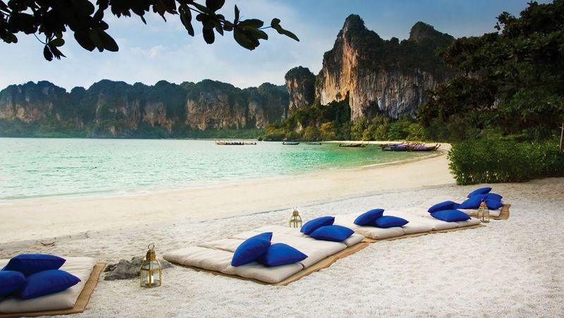 Railay Beach Aonang Kraibi